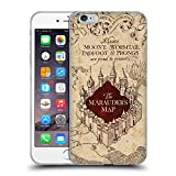 Head Case Designs Oficial Harry Potter The Marauder's Map Prisoner of Azkaban II Carcasa de Gel de Silicona Compatible con Apple iPhone 6 Plus/iPhone 6s Plus