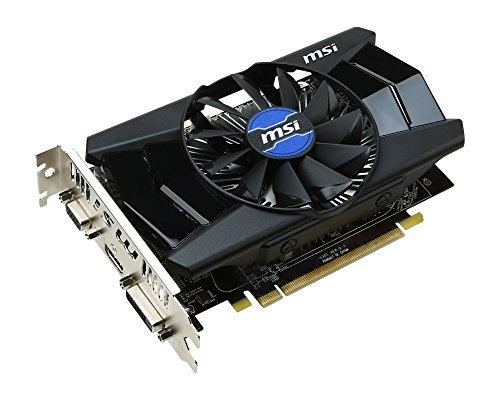 MSI V301-001R Radeon R7 250 Grafikkarte (PCI-e, 2GB, GDDR3 Speicher, DVI, HDMI, 1 GPU)