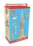 Jeujura - 8333- Jeux de Construction-Tecap Baril de Planchettes Classic - 300 Pieces