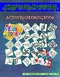 Jumbo Dinosaur Coloring: 35 Coloring Spinosaurus, Fossil, Stegosaurus, Edmontosaurus, Ampelosaurus, Ankylosaurus, Styracosaurus, Spinosaurus For Young Image Quiz Words Activity And Coloring Books