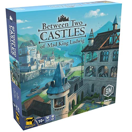 Between Two Castle of Mad King Ludwig - Juego de Mesa