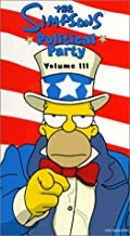 The Simpsons Political Party, Vol. 3 VHS