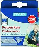 Stylex 31080 Fotoecken, selbstklebend, 250 Stück