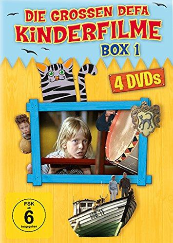 Die grossen DEFA Kinderfilme - Box 1 [4 DVDs: Sabine Kleist - Der Katzenprinz - Weiße Wolke Carolin - Das Eismeer ruft)]