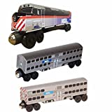 2017 Chicago Metra F-40 3 pc. Set by Whittle Shortline Railroad