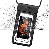 ZVE Universal wasserdichte Hülle, IPX8 Samsung S8 S7 iPhone 8 7 6 X Wasserfest Handy...