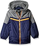 ZeroXposur Boys' Little Franklyn Transitional Jacket, Navy, Medium