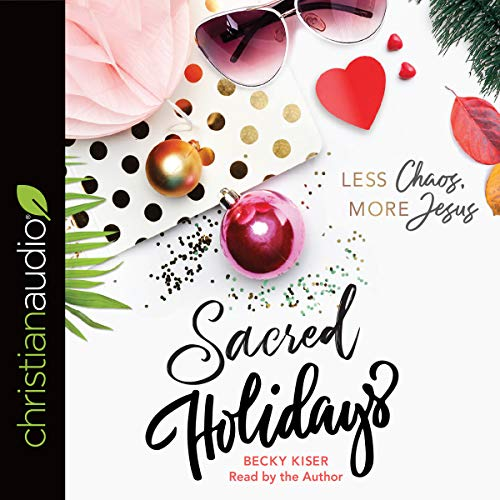 Sacred Holidays audiobook cover art