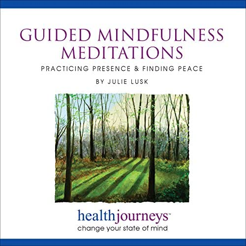 Guided Mindfulness Meditations Practicing Presence Finding Peace Achieve Calmer Nerves Sharper product image