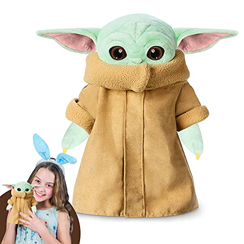 Yoda Plush Toy, Cute Plush Figures Yoda, Best Gift for Fans, Baby Yoda Toys for Kids