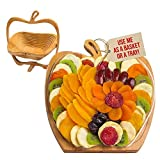 Dried Fruit Gift Basket – Healthy Gourmet Snack Box - Holiday Food Tray - Variety Snacks - Great...