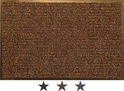 OKu-Tex Felpudo, Polipropileno, marrón, 60 x 120