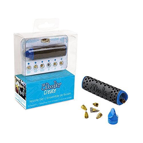 3Doodler Nozzle Set and Holder for Create & 2.0