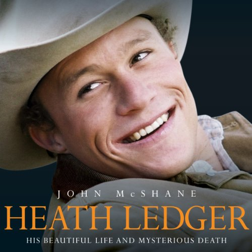 Heath Ledger audiobook cover art