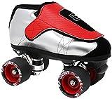 VNLA Junior SLVR Jam Skate for Men and Women - Indoor Unisex Roller Skate (Men 6 / Women 7)
