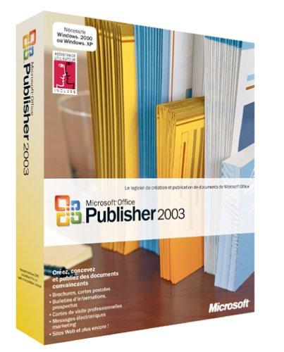 Publisher 2003, mise à jour