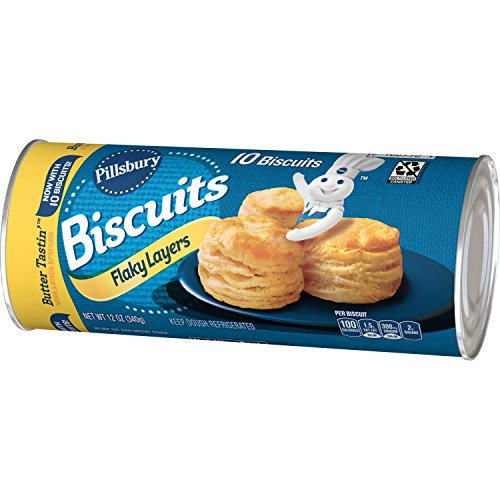 Pillsbury Flaky Layers Butter Tastin' Biscuits 10 ct