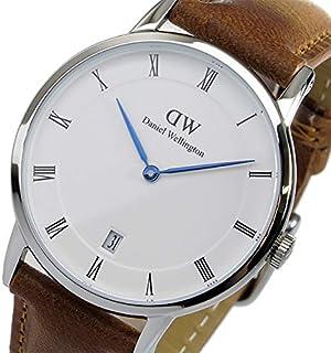 ダニエル ウェリントン ダッパー ダラム/シルバー 34mm 腕時計 DW00100114 [並行輸入品]