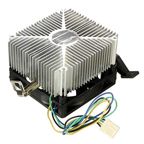 Milageto Ventilador de refrigeración para CPU Ventilador de refrigeración DC sin escobillas con disipador AM3 / AM2