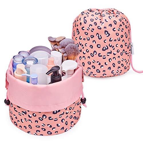 Bolsa de maquillaje con cordón para viaje, organizador de artículos de tocador,...