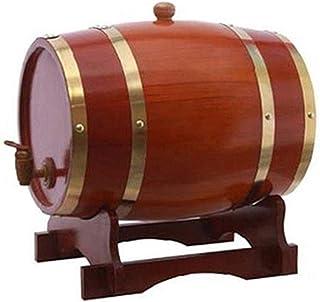 Tonneau de Vin en chêne Fût de chêne Porte-seau en bois à whisky, Tonneau de chêne Distributeur d'eau vintage, Convient à ...