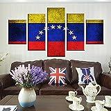 5 Stück Flagge von Venezuela Home Decor