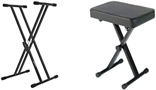 Amazon Basics Heavy-Duty Adjustable Keyboard and Piano Stand