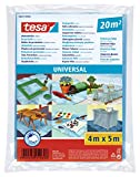 Tesa 56651-00002-01 Bâche de protection Universelle 20m² 4m x 5000mm, Bleu Transparent