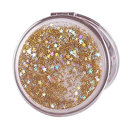 Ensemble de 2 miroirs compacts Quicksand Miroirs portables à double face #09