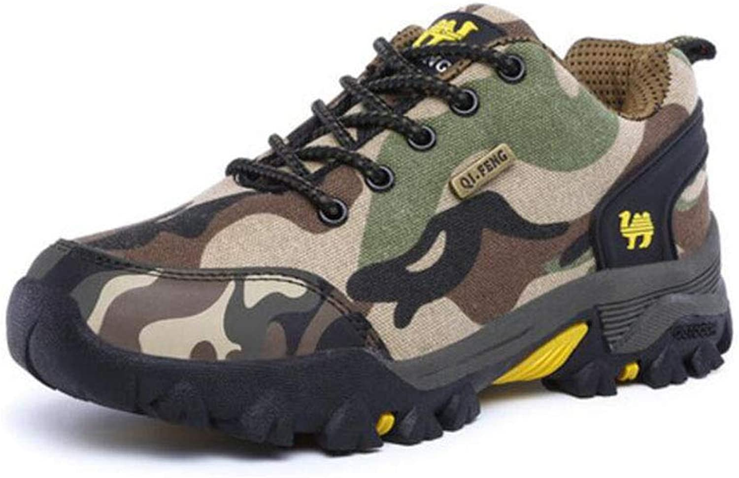 FH Camouflage Hiking shoes Female Waterproof Non-Slip Walking shoes Outdoor shoes Breathable
