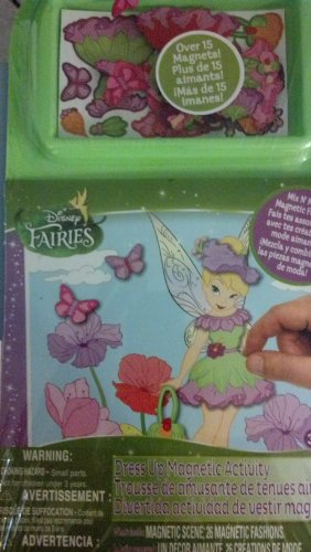 TINKERBELL Disney Fairies Dress up Magnetic Activity