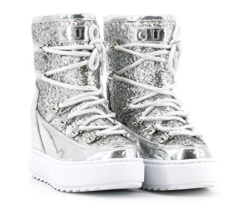 Guess - Damen Boots - FL8FRNFAM12 (36 EU, Silber)