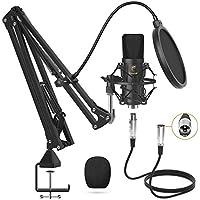 Tonor Professional Cardioid Studio Mic Kit with T20 Boom Arm