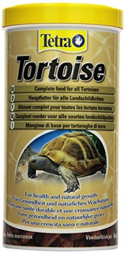 Tetra Tortoise Hauptfutter (Alleinfutter für alle Landschildkröten zur artgerechten Ernährung), 1 Liter Dose