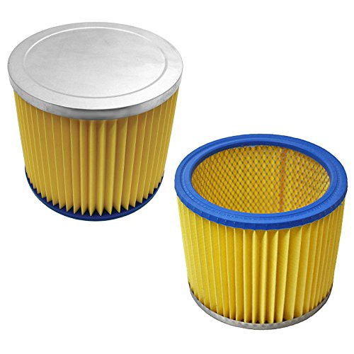 SPARES2GO Filter Hoover Cartridges for Goblin Aquavac Wet & Dry Vacuum Cleaner (Filters) by Spares2go