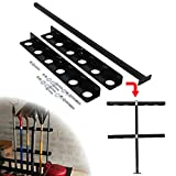 HEKA Landscape Tool Rack with 6 Holes Fit for Trailer and Truck