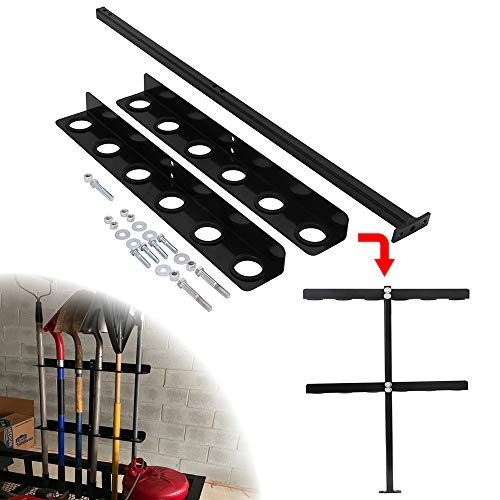 HEKA Landscape Truck Hand Tool Rack with 6 Holes Fit for Trailer and Truck