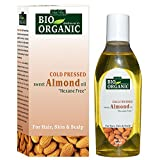 100% cold pressed almond oil for hair and skin. It is a wonderful natural conditioner that can give you smooth and healthy hair. Almond oil for skin is a miracle for lightening dark circles and eye bags. It helps in evolution of hair follicles and he...