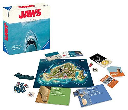Das Strategiespiel Der weiße Hai von Ravensburger ist für Erwachsene und Kinder ab 12 Jahren geeignet.