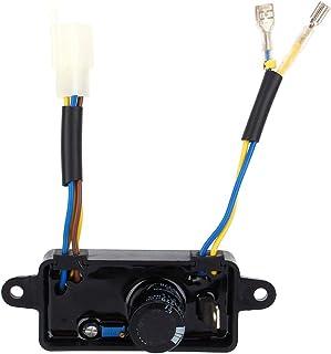 Generador regulador - 1 Uds regulador de voltaje rectificador AVR monofásico para generador de gasolina 2KW-3KW