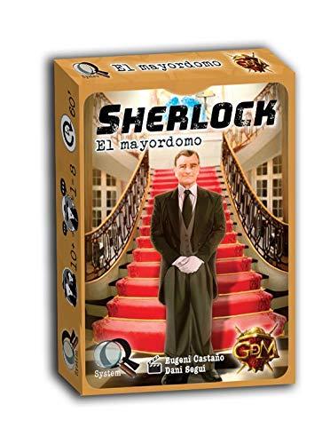 GM Games- Sherlock: el mayordomo Juego de investigación, Color Gris (GDM Games...