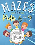 Mazes for kids 6-9 Years: 100 Puzzles with solutions | fun and Challenging skills | Problem solving and reasoning ages 6-9 Years old | Gifts idea for boys and girls activities book lovers
