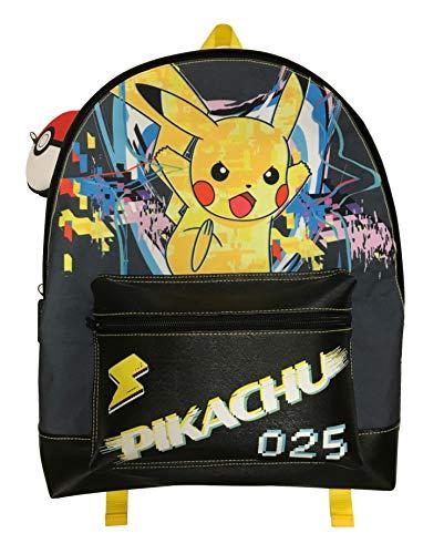 Pokemon Pikachu Roxy Rucksack mit 2 Reißverschlüssen
