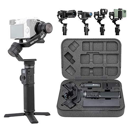 FeiyuTech G6 Max Stabilisateur à Main stabilisation à 3 Axes et 4 en 1 pour Smartphone et caméra - iPhone 11 Pro...