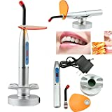 BONEW 1500~2000mW LED Light Wired & Wireless Cordless Dentist Cure Lamp US Warehouse...