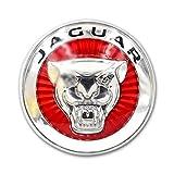 D28JD Logo-Emblem für Kühlergrill Metallbuchstaben Aufkleber für J-aguar XF/XFL 2016-2019