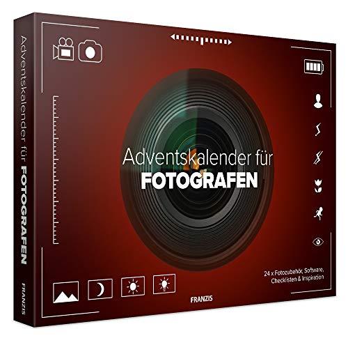 FRANZIS Adventskalender für Fotografen | 24 Ideen, Zubehör und Software für Ihr nächstes Fotoprojekt | Hinter jedem Türchen eine Überraschung | Ab 14 Jahren