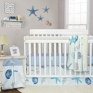 51S2hkzmb5L._SS300_ Nautical Crib Bedding & Beach Crib Bedding Sets