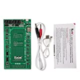 Kaisiking Professional Battery Tester Battery Activation Charge Board, Phone Battery Repair Circuit Board with Power Current Cable Compatible for iPhone X 8 7 Plus 6 Plus 6S, iPad, Samsung, Oppo etc.