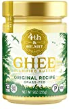 4th & Heart Original Grass-Fed Ghee Butter, 9 Ounce, Keto, Pasture Raised, Non-GMO, Lactose Free, Certified Paleo